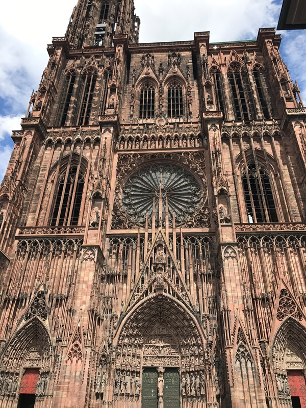 strazburg notre dame katedrali